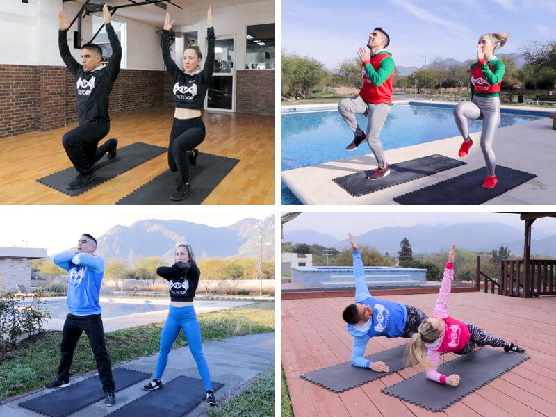 Programas FIIT 24 Gio y Pana Fitness